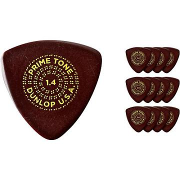 Dunlop Primetone Small Sculpted Triangle Plectra with Grip, 1.3 (3-Pack)