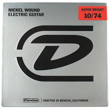 Dunlop Super Bright Medium Nickel Wound 8-String Electric Guitar Strings (10-74)