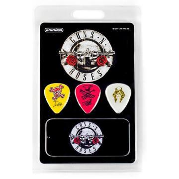 Dunlop Guns N Roses Guitar Picks & Tin 6 Pack