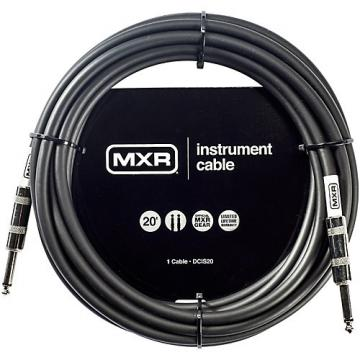 Dunlop MXR Instrument Cable 20 ft. Black
