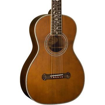 Washburn R320SWRK Vintage Series Parlor Acoustic Guitar Natural