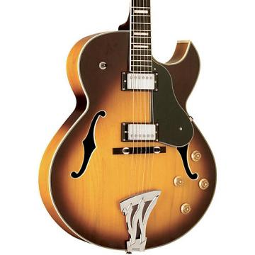 Washburn J3 Jazz Florentine Cutaway Electric Guitar Sunburst