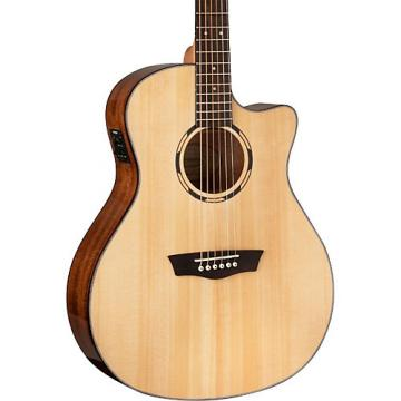 Washburn Woodbine Series WLOSCE Acoustic-Electric Orchestra Guitar Natural