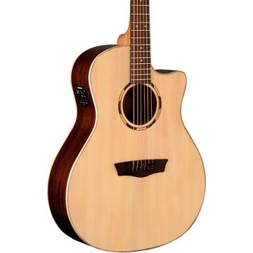 Washburn Woodline Series WLO20SCE Acoustic-Electric Cutaway Orchestra Guitar Natural