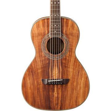 Washburn WP55 Parlor Koa Acoustic Guitar Satin Natural