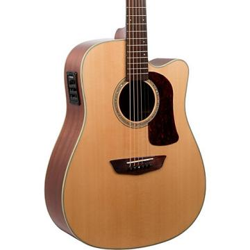 Washburn HD100SWCEK Heritage Series Dreadnought Acoustic-Electric Guitar Natural