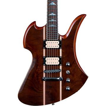 B.C. Rich Mockingbird Neck Through with Walnut Burl Top Electric Guitar Gloss Natural