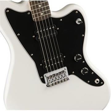 Squier by Fender Affinity Series Jazzmaster Electric Guitar - HH - Rosewood Fingerboard - Arctic White