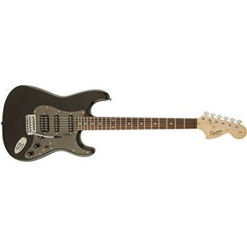 Squier by Fender Affinity Stratocaster Beginner Electric Guitar HSS - Rosewood Fingerboard, Montego Black
