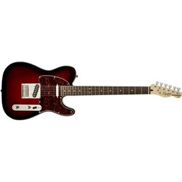 Squier by Fender Standard Telecaster Electric Guitar - Antique Burst - Rosewood Fingerboard
