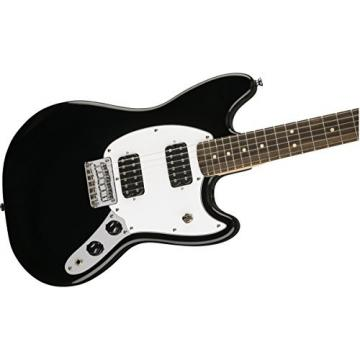 Squier by Fender Bullet Mustang Electric Guitar - HH - Rosewood Fingerboard - Black