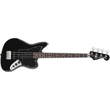Squier by Fender Vintage Modified Jaguar Special Short Scale Bass, Black