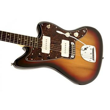 Squier by Fender Vintage Modified Jazzmaster Electric Guitar, Rosewood Fingerboard, 3-Tone Sunburst