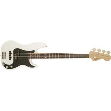 Squier by Fender Affinity Series Series Precision Bass PJ Electric Bass Guitar, Rosewood Fingerboard, Olympic White