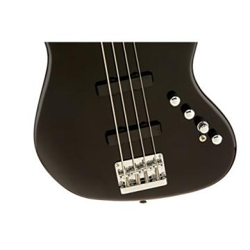 Squier by Fender Deluxe Active Jazz Bass IV String, Black