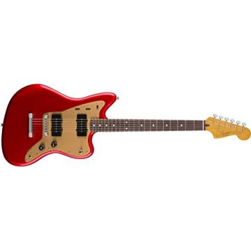 Squier by Fender Deluxe Jazzmaster  - Rosewood Fingerboard  - Candy Apple Red  - Hard Tail