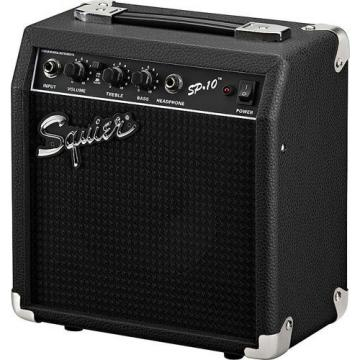 Squier by Fender SP-10 Portable Electric Guitar Amplifier