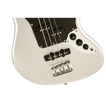 Squier by Fender Vintage Modified Jaguar Special Short Scale Bass, Silver