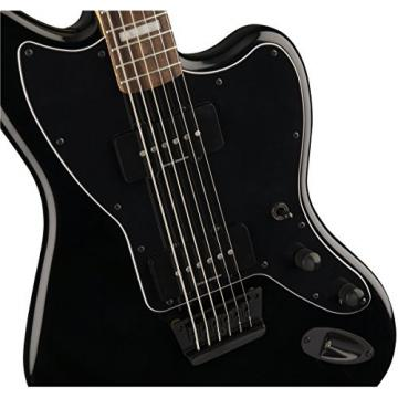 Squier by Fender Vintage Modified Baritone Jazzmaster - Rosewood Fingerboard - Transparent Black