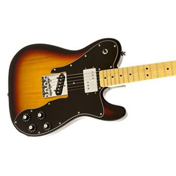 Squier by Fender Vintage Modified Telecaster Electric Guitar Custom - 3-Color Sunburst - Maple Fingerboard