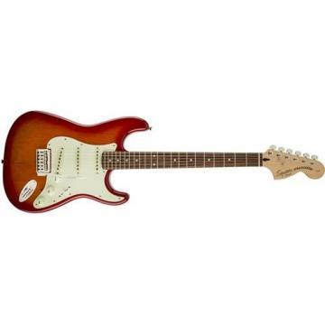 Squier Standard Strat Electric Guitar (Cherry Sunburst, Rosewood Fingerboard, Parchment)