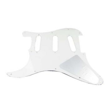 IKN SSS 3Ply Guitar Pickguard White Pearl Pickguard w/Screws for Strat Squier Style Guitar