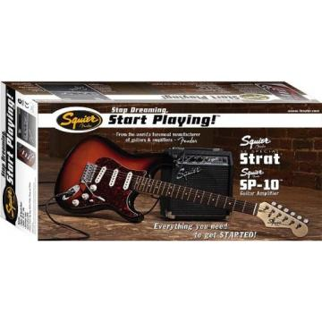 Squier Stop Dreaming Start Playing SE Special with Squier SP-10 Amp - Black