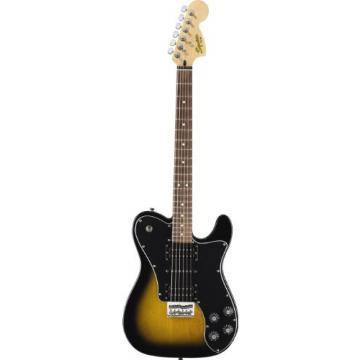 Fender Squier Joe Trohman Telecaster Electric Guitar, 2 Tone Sunburst