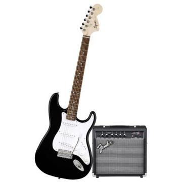 Squier Stop Dreaming, Start Playing Set: Affinity Special w/ Fender 15G Amplifier, Black