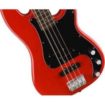 Fender Squier AFFINITY SERIES PRECISION BASS Race Red w/Hard Case & More