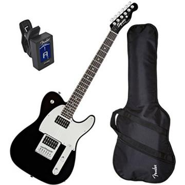 Fender Squier J5 Telecaster Electric Guitar w/ Fender Gig Bag and Tuner