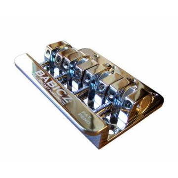 Babicz FCH4CHP  Full Contact Hardware, 4-String Bass Bridge, Chrome