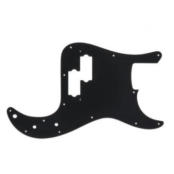 MIJ Pickguard for Precision Bass Black 1Ply fa-pg-pb-b1