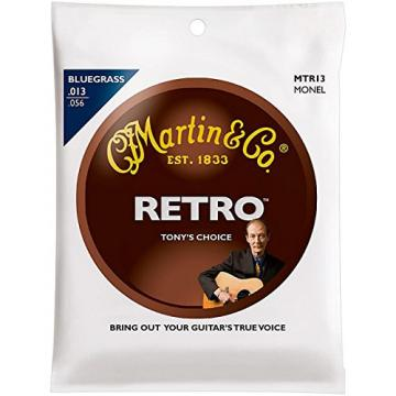 Martin - MTR13 - Tony Rice Bluegrass Acoustic Guitar Strings, .013-.056