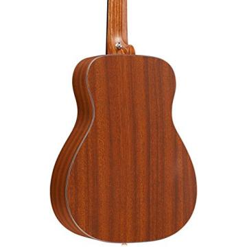 Martin X Series Custom LX Sapele Acoustic Guitar Natural
