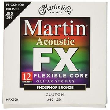 Martin FX700 Phosphor Bronze 12 String Acoustic Guitar Strings , Custom Gauge