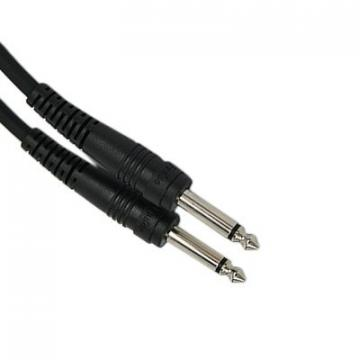 "HDE Guitar Cable 6 Foot 1/4"" Bass Keyboard Amplifier Input Quarter Inch Cord"