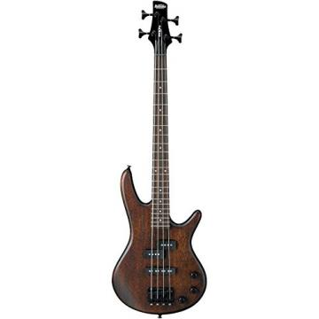 Ibanez GSRM20 Mikro 3/4 Size Electric Bass Guitar - 4 Strings - Flat Walnut Finish
