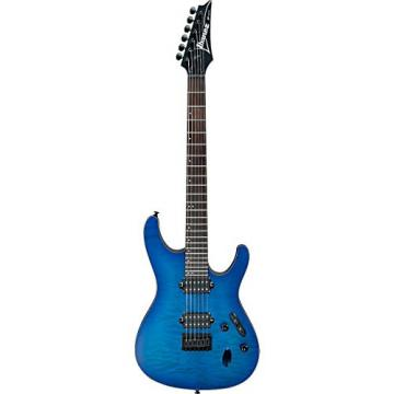 Ibanez S Series S621QM Electric Guitar Sapphire Blue