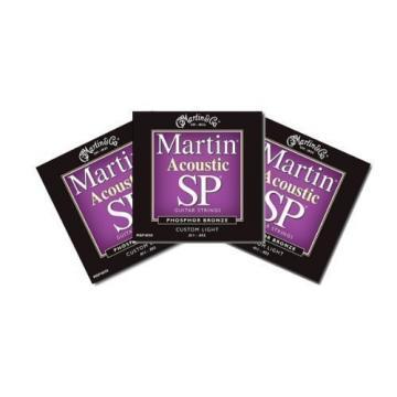 Martin SP Acoustic Custom Light Guitar Strings - MSP4050 - 3 Packs