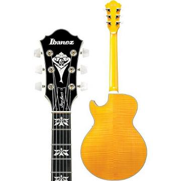 Ibanez Limited Edition George Benson Signature GB40THII Hollow Body Electric Guitar Antique Amber