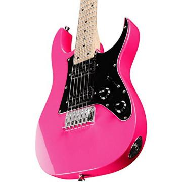 Ibanez GRGM21 Mikro 3/4 Size Kids Electric Guitar - Vivid Pink Finish