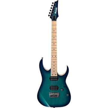 Ibanez RG652AHMFX Prestige RG Series 6-String Electric Guitar Nebula Green Burst