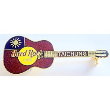 Red Martin Acoustic Flag Guitar Hard Rock Café Taichung