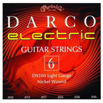 Martin D9200 Darco Electric Guitar Strings, Light