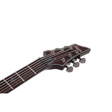 Schecter HELLRAISER C-VI Baritone 6-String Electric Guitar, Black Cherry