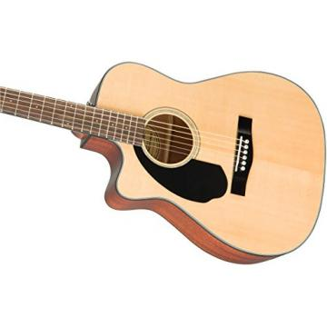Fender Classic Design Series CC-60SCE Cutaway Concert Left-Handed Acoustic-Electric Guitar Natural
