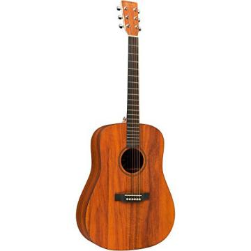 Martin X Series DXK2AE Dreadnought Left-Handed Acoustic-Electric Guitar Natural