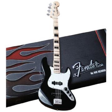 Axe Heaven FJ-003 Fender Jazz Black Finish Miniature Bass Replica