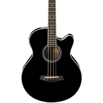 Ibanez AEB5EBK Acoustic Electric Bass Guitar, Black